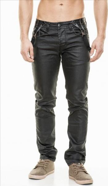 JEANSNET džíny kalhoty pánské slim fit + šle 8183 • Zboží.cz 4009ec2280