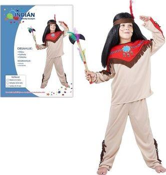 Karnevalový Kostým Indián 120-130cm od 199 Kč • Zboží.cz d5d025a8f1