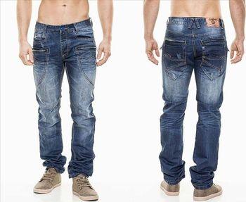 JEANSNET džíny kalhoty pánské 7081 regular zipy • Zboží.cz 170266800a