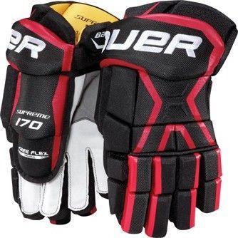 Bauer Supreme 170 junior rukavice černé červené od 1 699 Kč • Zboží.cz b165d5d936
