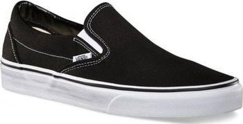 48c2b4d832a Classic Slip-on se staly tak součástí skate kultury a moderního stylu,  Pánské boty bez tkaniček. Tyto černé boty patří k těm neoblíbenějším z bot  od Vans.