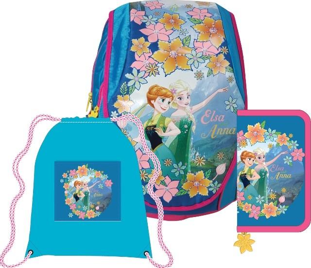 aa1984f15a Sunce Anatomický školní Set ABB batoh Disney Frozen (Ledové království) od  1 845 Kč
