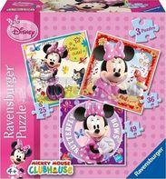 puzzle Ravensburger Minie Mouse 3v1 746fbbcd57e