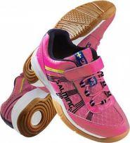 23d1eb5a8a9 dětská sálová obuv Salming Viper Kid Velcro růžová