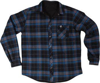 038b949ae4f VEHICLE košile REVERT BLACK BLUE • Zboží.cz