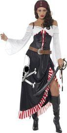 db028ecfe0af Smiffys Kostým pirátka - dlouhá sukně