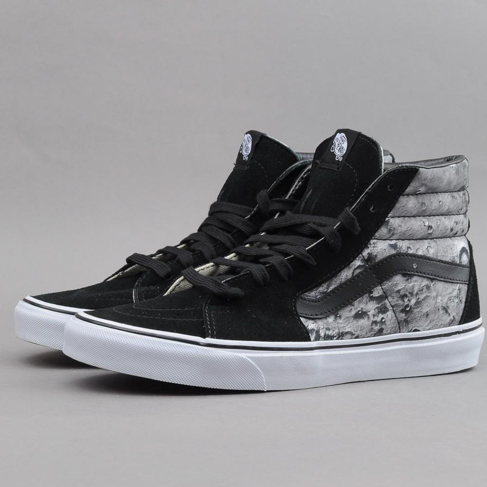 Boty Vans Sk8-hi black black white 11 eceb7e73de