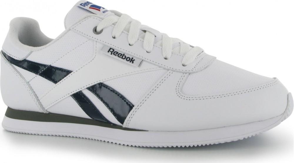 bd12163c60c Reebok Classic Jogger Mens Trainers White Navy Tin od 1 629 Kč • Zboží.cz