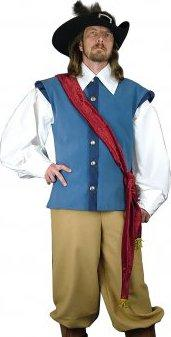 0a1ee1b743b Mušketýrský kostým Gustav Adolf