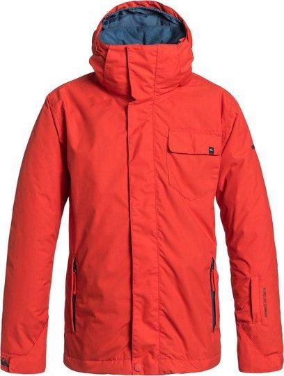 8026f4113ea Dětská zimní bunda Quiksilver Mission youth plain jacket poiciana 14 •  Zboží.cz