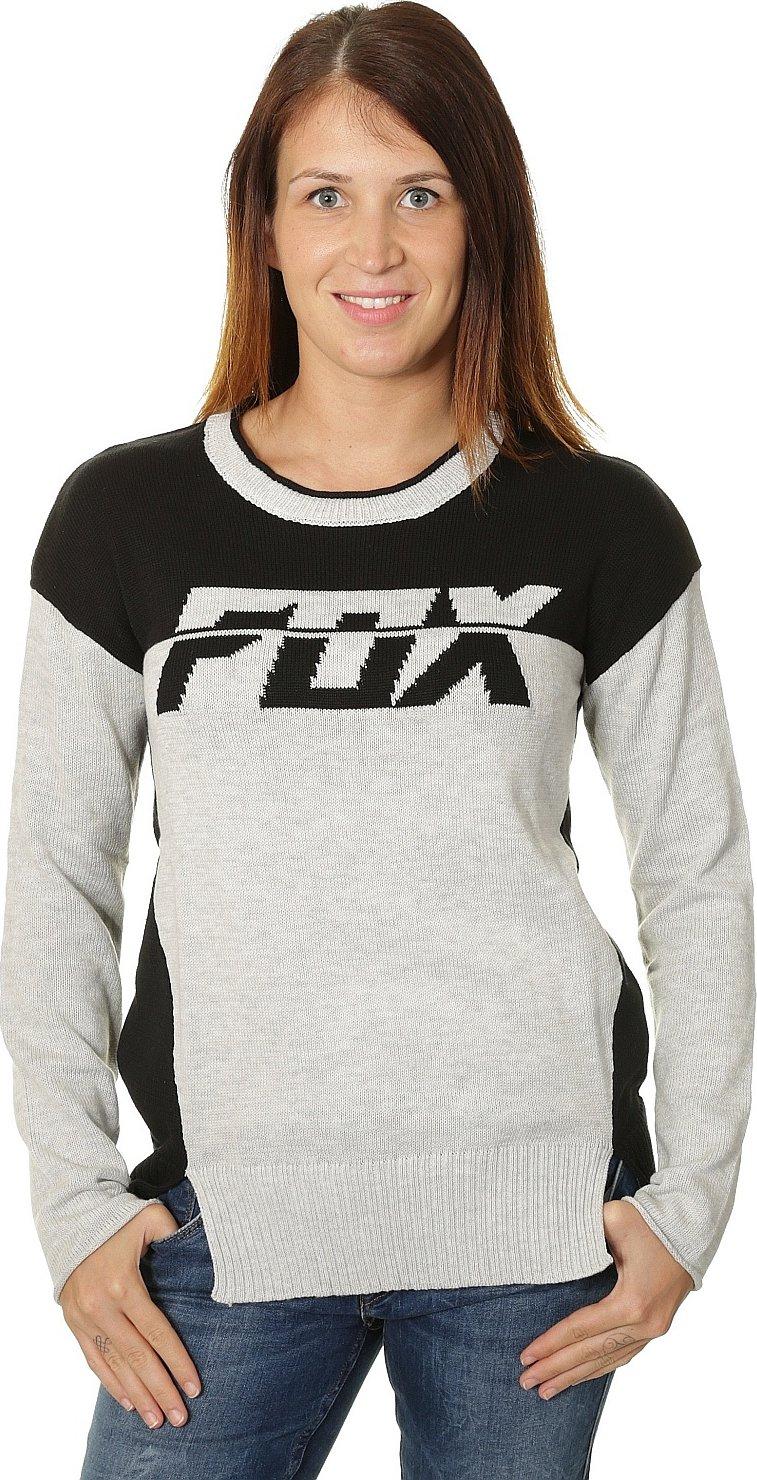 5fae743000a Dámský svetr Fox Identified sweater light heather grey S • Zboží.cz