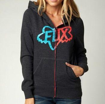 Dámská mikina Fox Changing zip hdy heather black M • Zboží.cz 6480450e4b2