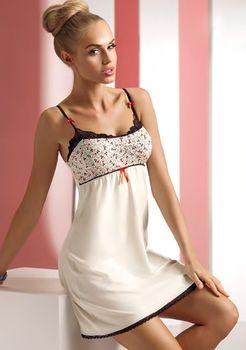 0ca8af4686b Noční košilka Donna Luiza - Krémová XL od 509 Kč • Zboží.cz