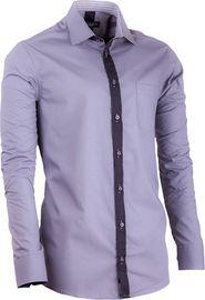 pánská košile Košile Assante 20719 tmavě šedá   šedá 1695671828
