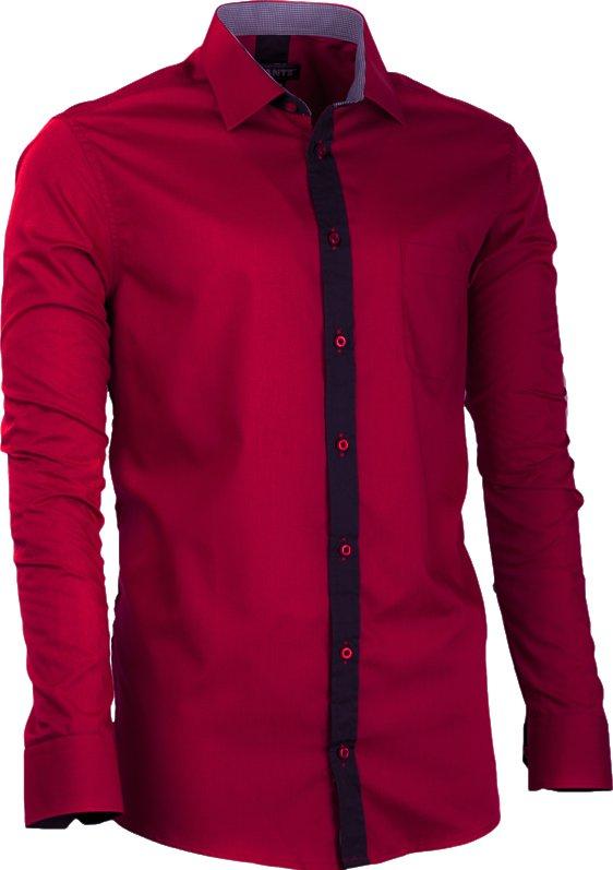 Košile Assante 20717 bordó   černá • Zboží.cz 089ede7020