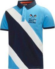 pánské tričko Triko Helly Hansen Polo Salt modré 69c73ec9a5