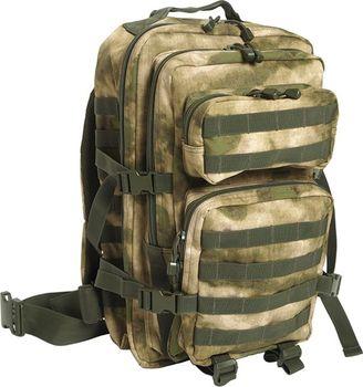 a8122ec043 Vojenský batoh US ASSAULT PACK large Mil-Tec má v hlavním prostoru 2 velké  úložné kapsy se velkým počtem zapínacích nebo síťovaných kapes.