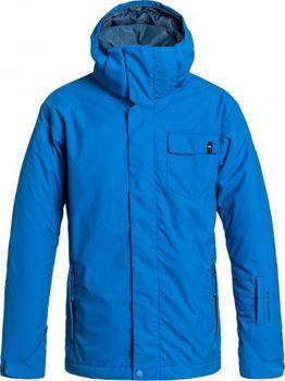 b7fc6dc5f4f Dětská bunda Quiksilver Mission youth plain jacket olympian blue 14 ...