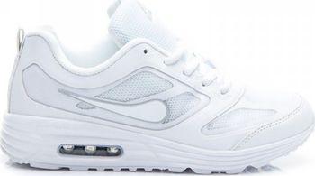 Tyto dámské sportovní tenisky v bílé barvě si hned po prvním obutí  oblíbíte. Tenisky jsou vyrobeny kvalitně z ekologické kůže a ze síťky. a99f5baf75