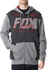 101677194a1 pánská mikina Mikina Fox Clutch heather graphite