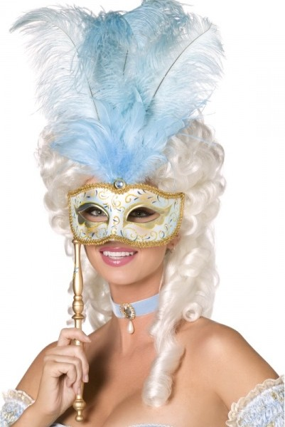 e57f0a723 Barokní maska - Modrá od 370 Kč | Zboží.cz