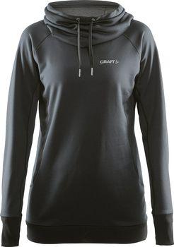 Dámská mikina Craft Pure Hood černá od 959 Kč • Zboží.cz 5845f9f631