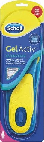 Scholl Gel Active Everyday vložky do bot dámské 1 pár od 239 Kč • Zboží.cz d969859c4b