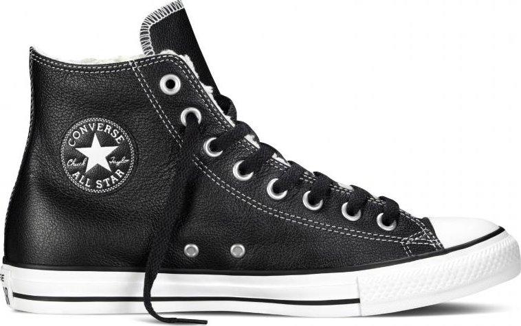 232ec6b50 Converse Chuck Taylor All Star Leather Hi Black 149462 46 od 1 847 Kč |  Zboží.cz